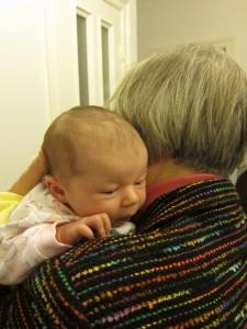 Ich liebe Oma.